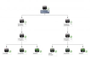 NiCE BlackBerry Enterprise MP Domain Diagram View