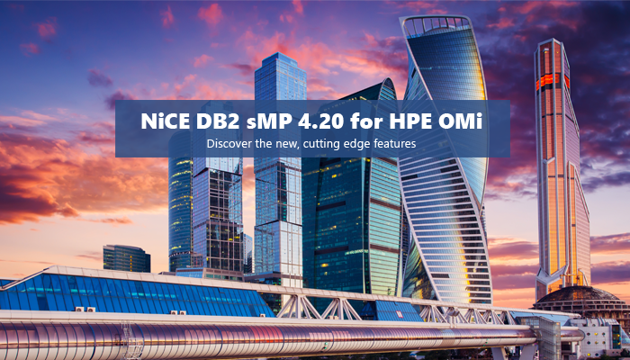 NiCE DB2 sMP 4.20 news release header