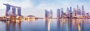 Singapore`s skyline